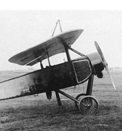 Morane Saulnier Type L with german insigna