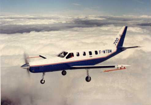 le premier vol le 14 juillet 1988